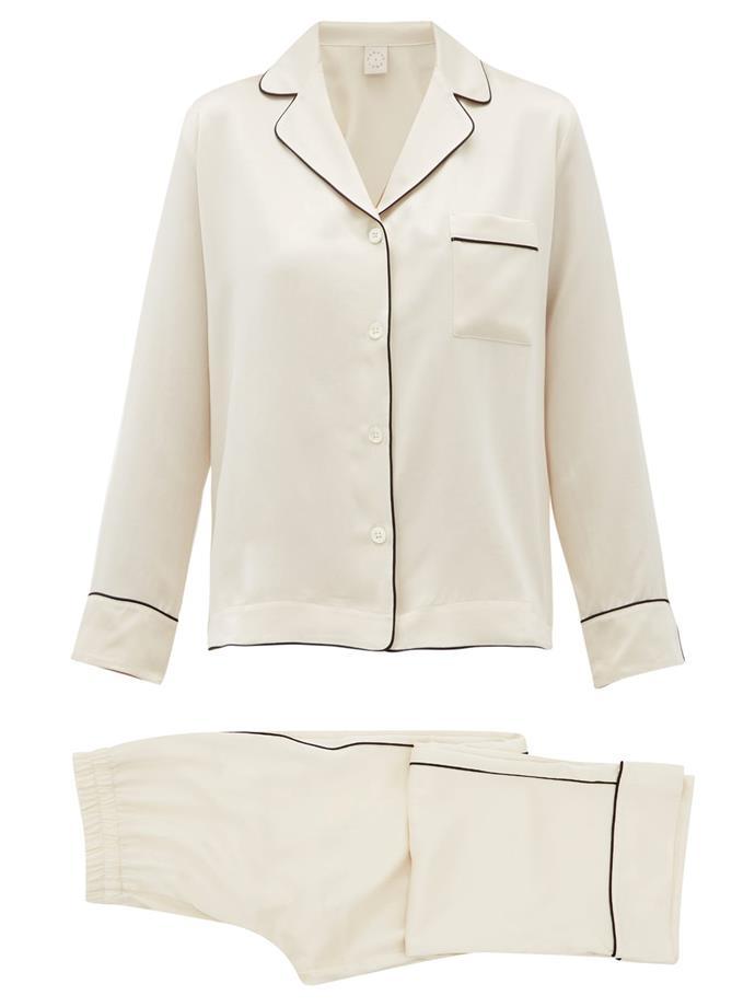 "Colette Silk-charmeuse Pyjamas, $690 by Morpho+Luna at [MatchesFashion](https://www.matchesfashion.com/au/products/MORPHO-%2B-LUNA-Colette-silk-charmeuse-pyjamas%09-1328716|target=""_blank""|rel=""nofollow"")."