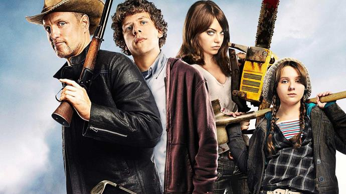 ***Zombieland*** <br><br> If you don't mind the odd bit of gore, this gem, starring Emma Stone and Jesse Eisenberg is a funny take on the typical zombie flick. Check out the film's equally funny sequel when you're done.