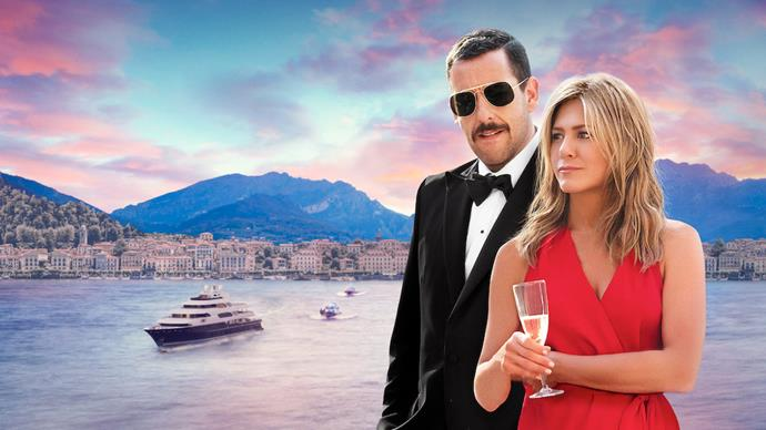 ***Murder Mystery*** <br><br> Who doesn't love a classic 'who dunnit?', especially when the film takes place in beautiful Italy. Jennifer Aniston and Adam Sandler are back together in this hilarious action comedy that sees a married couple become entangled in a wealthy man's murder.