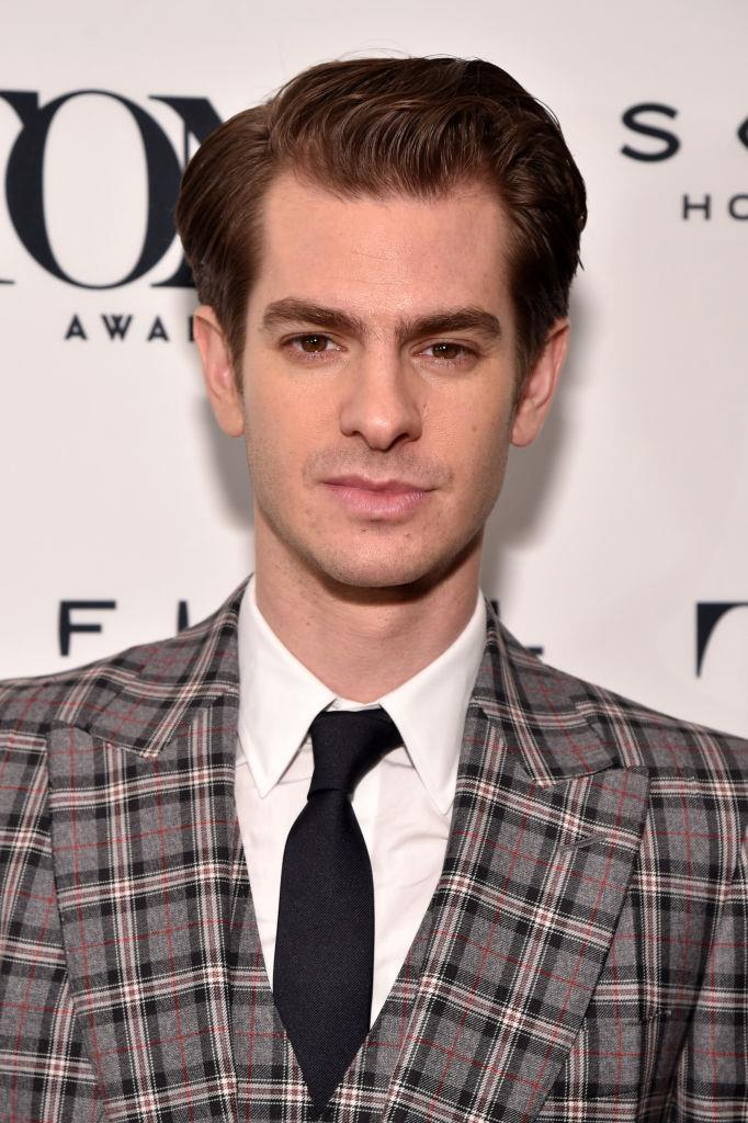 **Andrew Garfield: *Coin collecting and gymnastics*** <br><br> Ok, we don't know if this is still a thing but Garfield is a man of many talents. Not only was he a gymnast (and even did a backflip on his appearance on *Ellen*), but he used to be an avid stamp collector. The perfect man? Possibly.