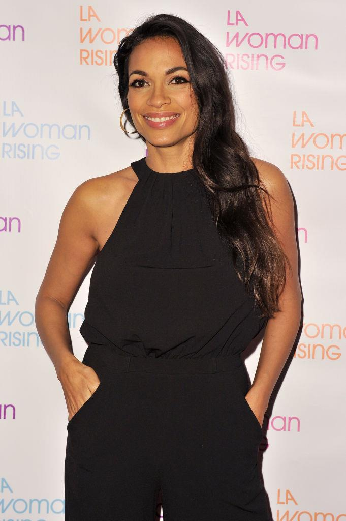 **Rosario Dawson: *Star Trek*** <br><br> It's not secret that Rosario Dawson is one smart woman, but did you know she was also a huge *Star Trek* nerd? The actress regularly attends Comic-Con for fun and is even known to bust out a bit of Klingon in conversations. Does that count as being bi-lingual? We think so.