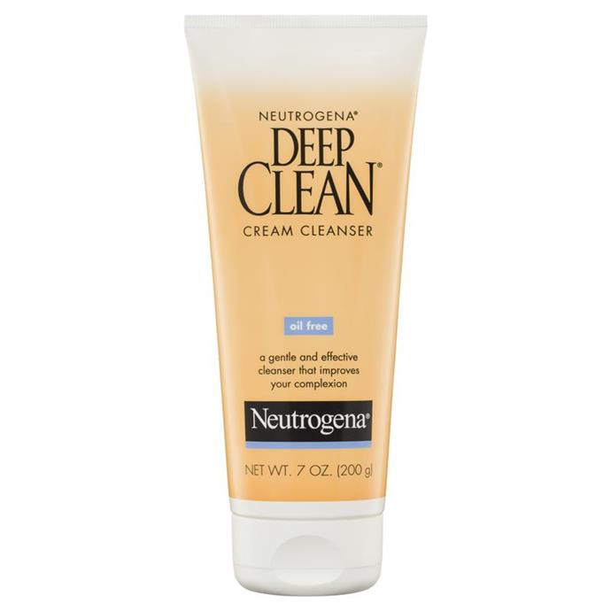 **Neutrogena Deep Clean Cleanser** <br><br> We repurchased this one many times.