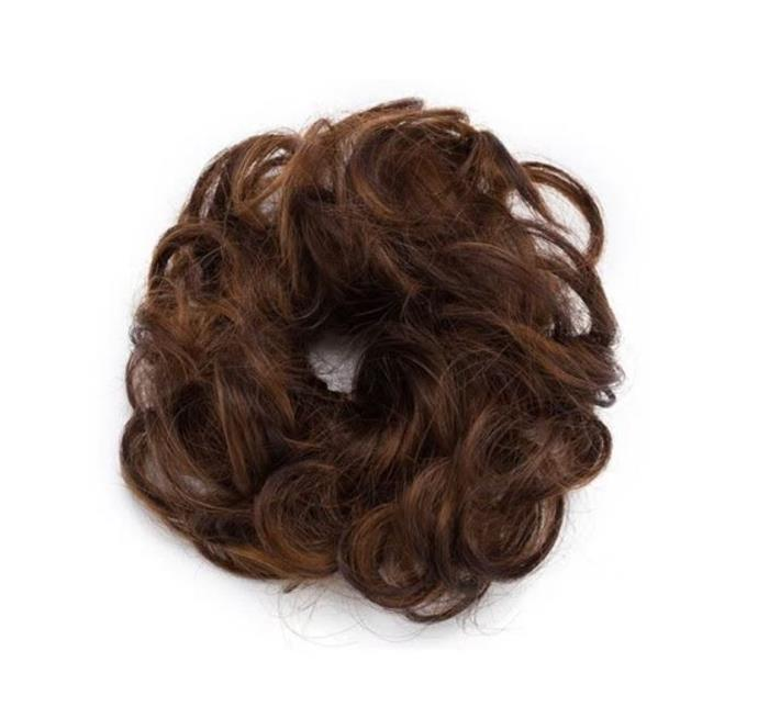 **Fake Hair Scrunchies** <br><br> *Why* is all that comes to mind when we think back to owning one of these.