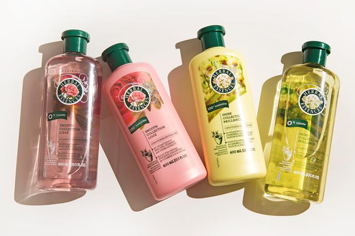 **Herbal Essences Shampoo and Conditioner** <br><br> We all had our signature.