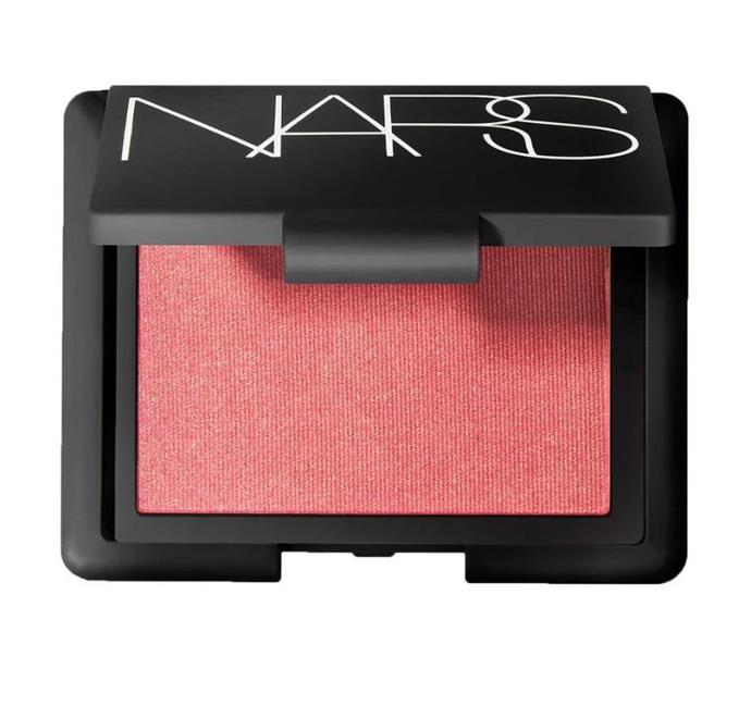 **Nars Orgasm in Blush** <br><br> While we've used dozens of blushes since, this one we will always remember as the original cult beauty product.