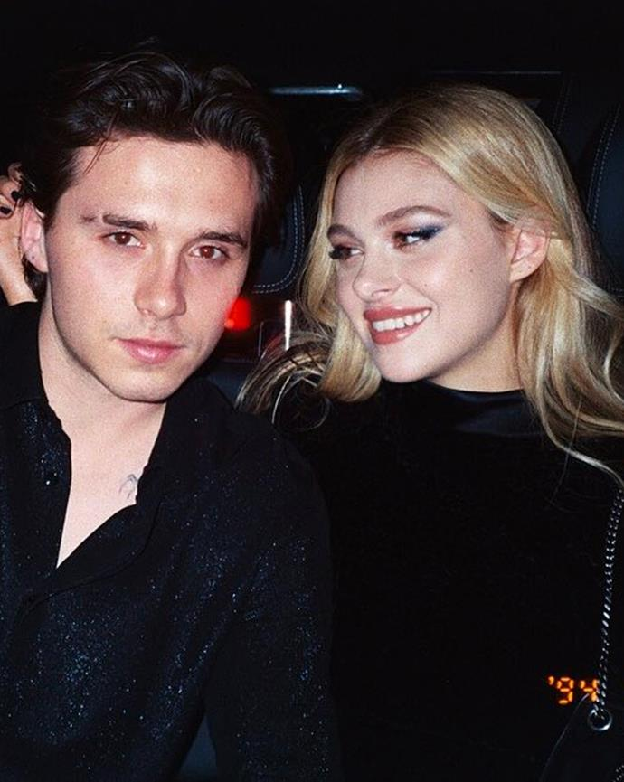 """**Who?** Brooklyn Beckham and Nicola Peltz. <br> **How long?** Seven months. <br> **Did it last?** Beckham and Peltz went public with their relationship back in January 2020, and were engaged around seven months later. Announcing their engagement [on Instagram](https://www.instagram.com/p/CCgN-Vel63f/