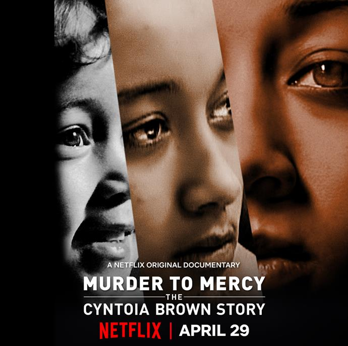 """***Murder To Mercy: The Cyntoia Brown Story*** <br><br> Most of us may only remember hearing the name Cyntoia Brown when Kim Kardashian West successfully won her clemency. But now, her full story is revealed in *[Murder to Mercy: The Cyntoia Brown Story](https://www.elle.com.au/culture/murder-to-mystery-the-cyntoia-brown-story-netflix-23351