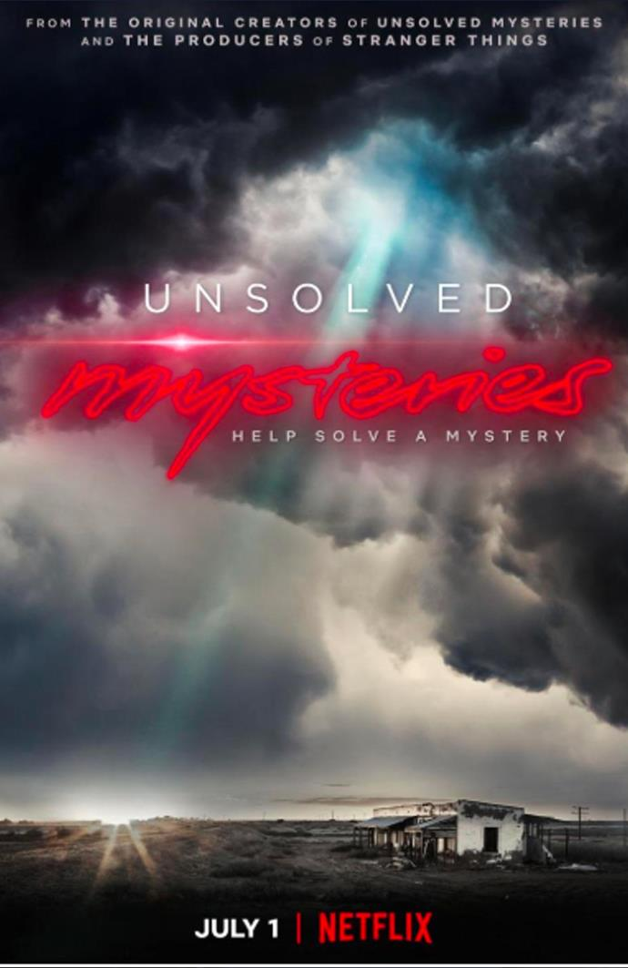 """***Unsolved Mysteries*** <br><br> If you're a fan of true crime podcast *[My Favorite Murder](https://myfavoritemurder.com/