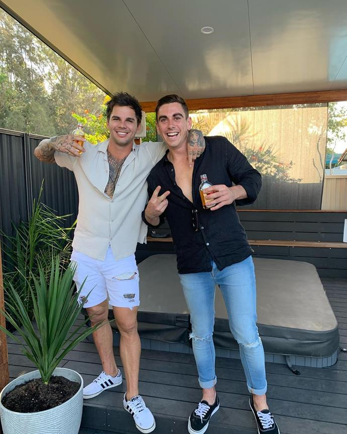 "**CONFIRMED: Scot Fuller, [@scotfullerr](https://www.instagram.com/scotfullerr/|target=""_blank"")**<br><br>  Scot with one M (pictured right, next to Matt) made his *Bachelor* franchise debut on Angie Kent's season and is a Byron Bay-based real estate agent."
