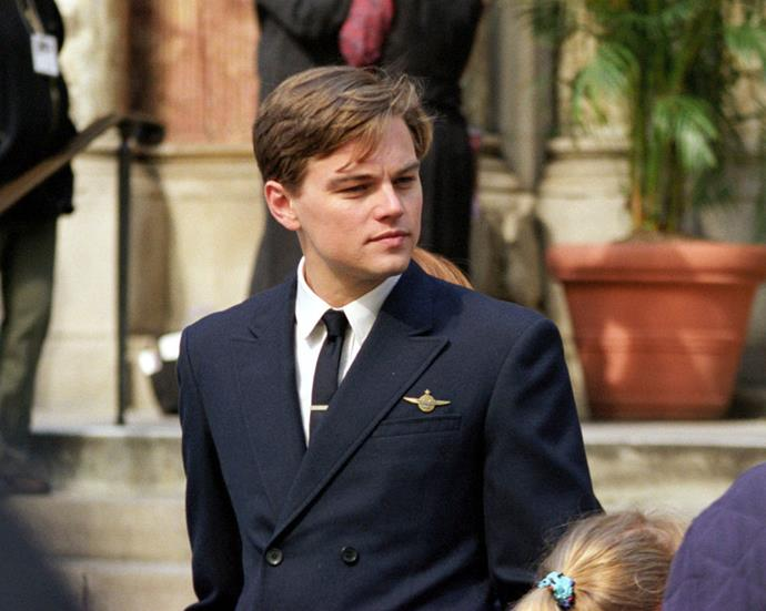 **Leonardo DiCaprio in *Catch Me If You Can*** <br><br> **Character Age:** 17 <br><br> **Real Age:** 28 <br><br> In the film that nabbed DiCaprio an Oscar nomination, the actor depicted real-life fraudster Frank Abagnale Jr. who was just 17-years-old when he began his conman spree.