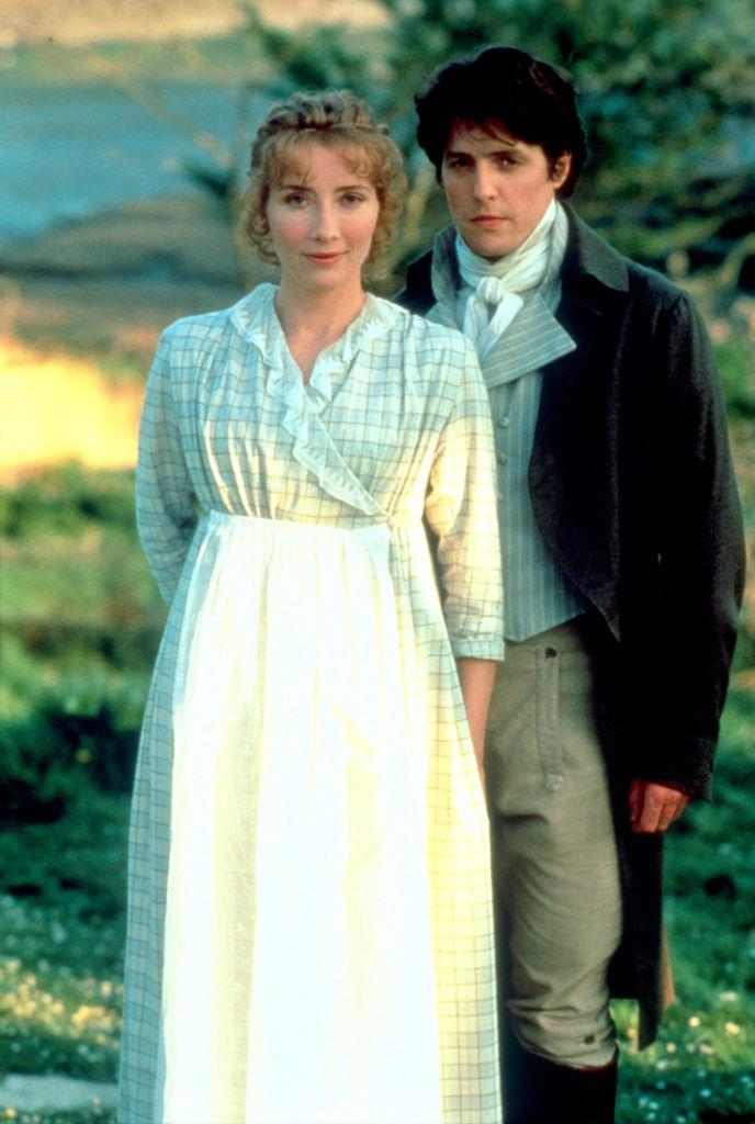 **Emma Thompson in *Sense and Sensibility*** <br><br> **Character Age:** 19 <br><br> **Real Age:** 35 <br><br> Thompson may have been almost double the age of her character Elinor Dashwood, but she received an Oscar for her screenplay adaption so, she did *something* right.