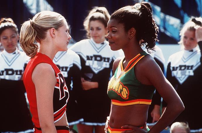 **Gabrielle Union in *Bring It On*** <br><br> **Character Age:** 17 <br><br> **Real Age:** 28 <br><br> Honestly, girl can *still* play a 17-year-old.
