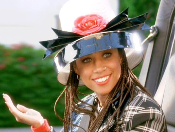 **Stacey Dash in *Clueless*** <br><br> **Character Age:** 16 <br><br> **Real Age:** 28 <br><br> We can't imagine anyone else playing Dionne in *Clueless* but there's definitely something a little unsettling about this age difference.