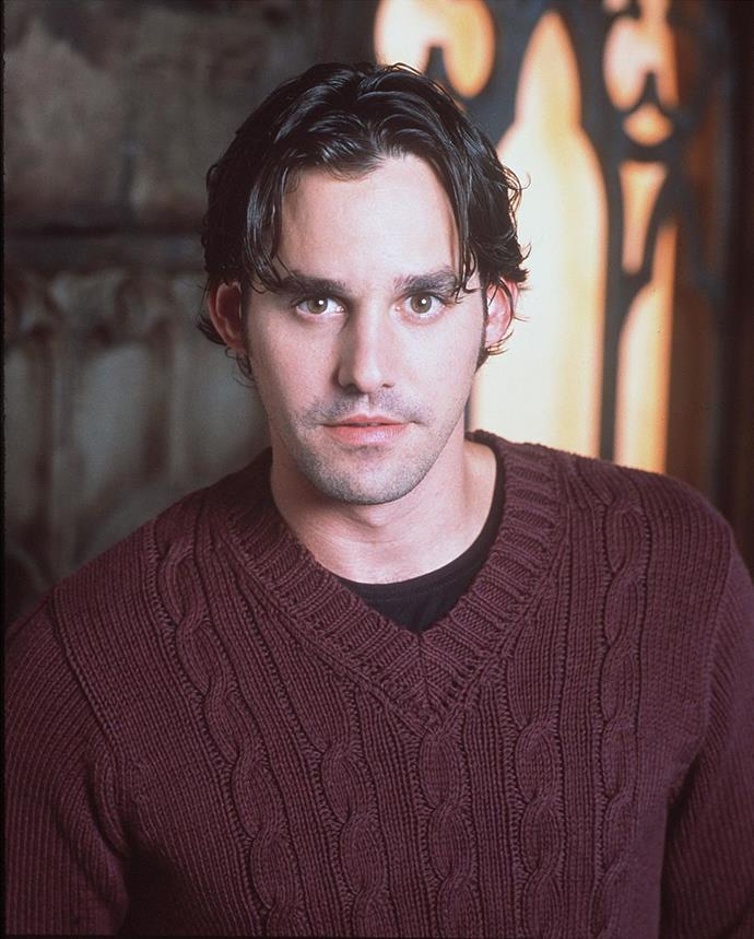 **Nicholas Brendon in *Buffy the Vampire Slayer*** <br><br> **Character Age:** 16 <br><br> **Real Age:** 26 <br><br> The facial hair was kind of a giveaway.