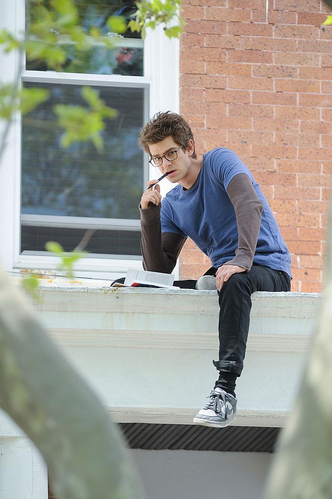**Andrew Garfield in *The Amazing Spider-Man*** <br><br> **Character Age:** 15 <br><br> **Real Age:** 27 <br><br> This one we weirdly understand.