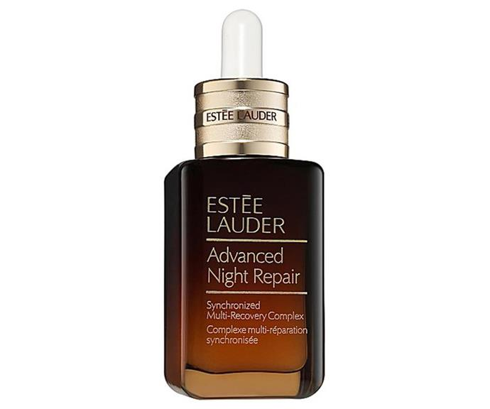 "**Cult serum: Estée Lauder Advanced Night Repair** <br><br> Known simply as ANR to fans (and trust us, there's a lot of them), Estée Lauder's cult serum was originally launched by the brand in 1982, pioneering the serum category. Since then, the little brown bottle has had multiple re-formulations, the latest of which is due to hit shelves in August 2020. It's not often a product continues to get better, but as science evolves, so does ANR. <br><br> *$110 at [esteelauder.com.au](https://www.esteelauder.com.au/product/681/77491/product-catalog/skincare/advanced-night-repair/synchronized-multi-recovery-complex|target=""_blank""