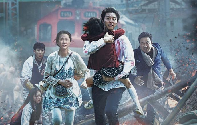 ***Train to Busan* (2016)** <br><br> **Country/Language:** South Korea/Korean <br><br> **Where to watch:** Netflix <br><br> If you love a good Zombie flick, this one is a serious contender for your  Friday night plans. Featuring an all-star cast, the movie also kind of forces us to question what is really important to us.