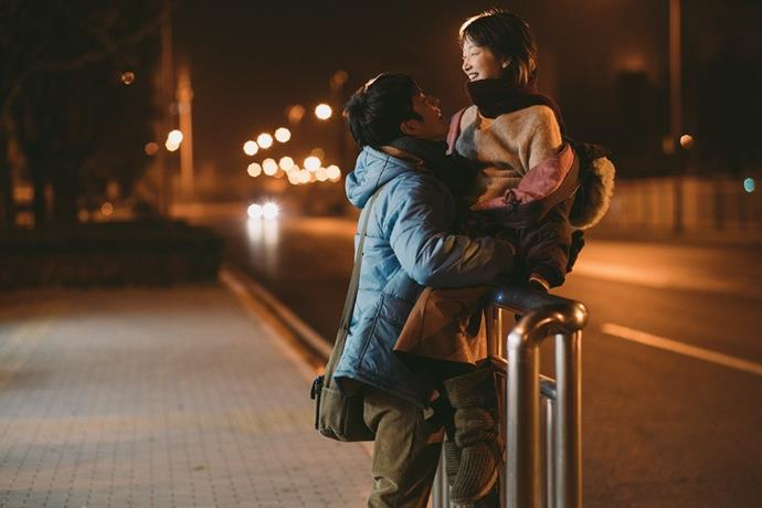***Us and Them* (2018)** <br><br> **Country/Language:** China/Mandarin <br><br> **Where to watch:** Netflix <br><br> If tumultuous romances are your schtick (be honest), then prepare to ship a new couple: Jianqing and Xiaoxiao. Two strangers form a deep bond after meeting on a train and finding out they're from the same town. While their lives and relationship devolve over ten years, the emotional journey makes the film really sit with you.