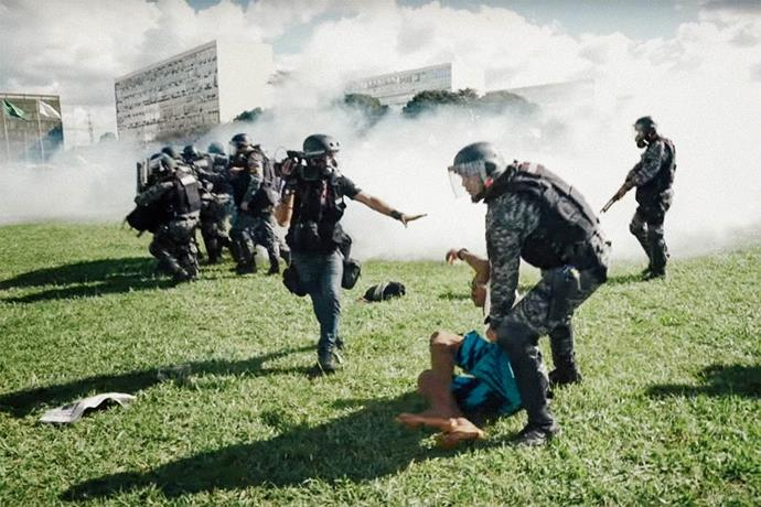 ***The Edge of Democracy* (2019)** <br><br> **Country/Language:** Brazil/Portuguese <br><br> **Where to watch:** Netflix <br><br> An ideologically divided country that is plagued with corruption, this documentary is a lesson in the fragile state of Brazil's democracy as well as its wider world impacts. Directed by Petra Costa, the film has garnered praise for its no-holds-barred approach to commentary.