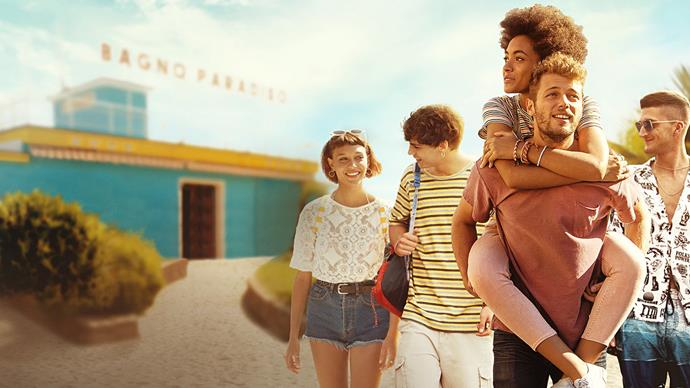 ***Summertime* (2020)** <br><br> **Country/Language:** Italy/Italian; English-dubbed <br><br> **Where to watch:** Netflix <br><br> So this one is a show, but it's well worth it. If you ever thought that one glorious summer was going to change your life in high school, it's because of this sappy teen romance drama shows like this. And, frankly, we're here for it.