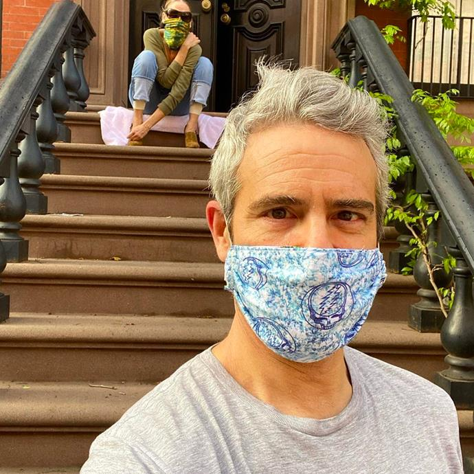 "**Andy Cohen** <br><br> The *Bravo* host revealed his diagnosis [on his Instagram](https://www.instagram.com/p/B9-LVMpBe9p/?utm_source=ig_embed|target=""_blank""