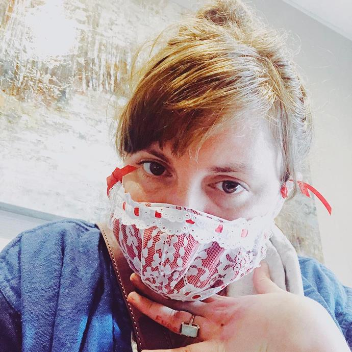 "**Lena Dunham** <br><br> The *Girls* creator shared a lengthy [Instagram post](https://www.instagram.com/p/CDUUmlrjNlI/|target=""_blank""