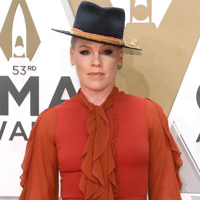 "**Pink** <br><br> In April 2020, musician Pink revealed on her Instagram, that her family starting showing symptoms of coronavirus, and that she had tested positive. <br><br> ""My family was already sheltering at home and we continued to do so for the last two weeks following the instruction of our doctor. Just a few days ago we were re-tested and are now thankfully negative. It is an absolute travesty and failure of our government to not make testing more widely accessible,"" she wrote."