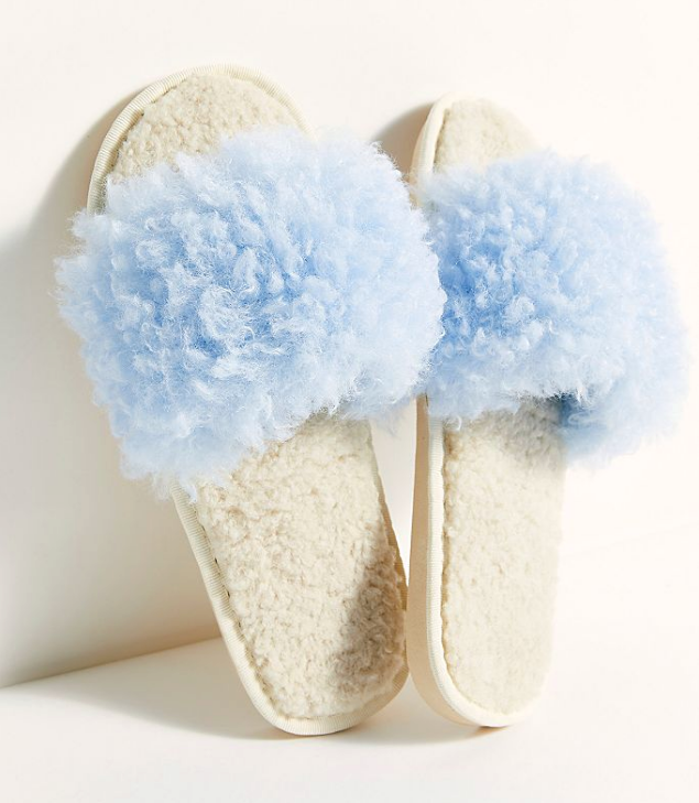 "Offline Cozy Slipper, $84 by Casa Clara at [Free People](https://www.freepeople.com/shop/offline-cozy-slipper/?recommendation=dyrectray-Similarity&color=048&type=REGULAR&quantity=1|target=""_blank""