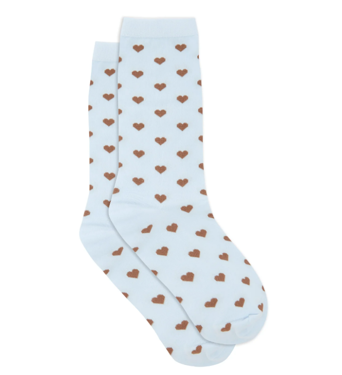 "Polka Dot Socks, $35 by GANNI at [MatchesFashion](https://www.matchesfashion.com/au/products/Ganni-Polka-dot-socks-1354306|target=""_blank""