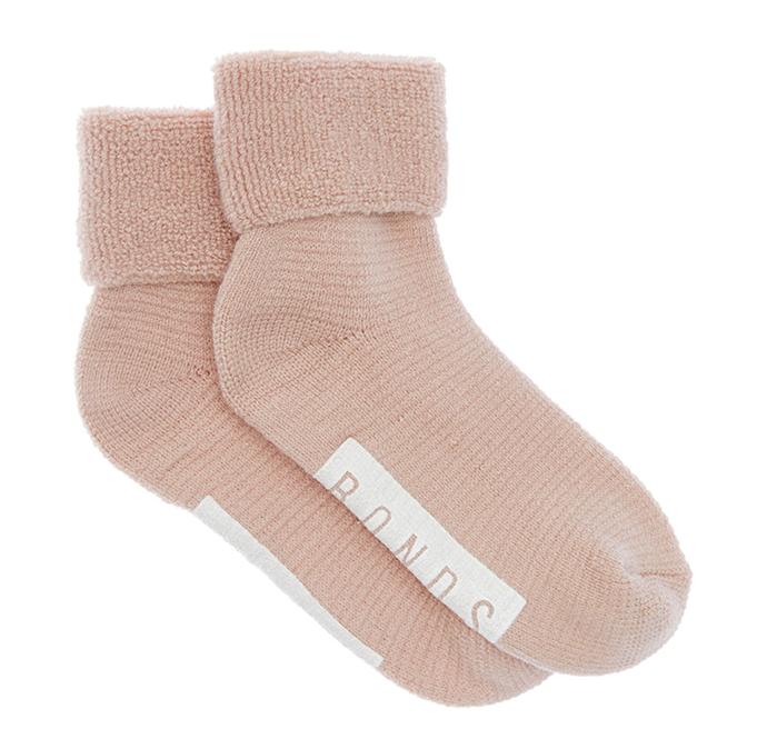 "Comfy Livin Snuggle Crew Sock, $14.94 by [BONDS](https://www.bonds.com.au/comfy-livin-snuggle-crew-1-pack-lxup1n-05k.html|target=""_blank""|rel=""nofollow"")."