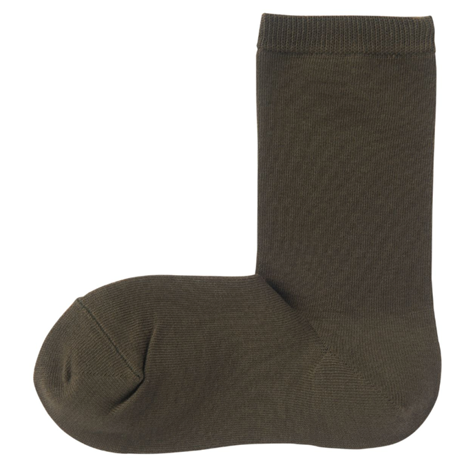 "Good Fit 3 Layer Socks in Khaki Green, $5.95 by [Muji](https://www.muji.com/au/products/cmdty/detail/4550182291834|target=""_blank""