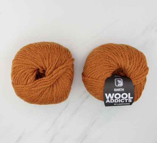 """Fire Chunky Wool in Burnt Orange, $39.50 by Wool Addicts at [Skein Sisters](https://www.skeinsisters.com.au/wooladdicts-fire