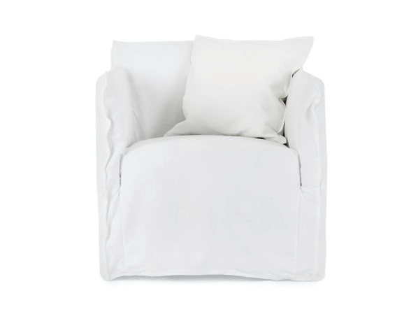 "Bronte Armchair, $799 by [Lounge Lovers](https://www.loungelovers.com.au/soacbronwhi00-italian-linen-white?gclid=Cj0KCQjwvb75BRD1ARIsAP6LcqtOII_RPTJ2y4588L5rpzDLJKtAr9w3MwQ4TgR7I9r47V6ILi_YXGwaAlLzEALw_wcB|target=""_blank""|rel=""nofollow"")."