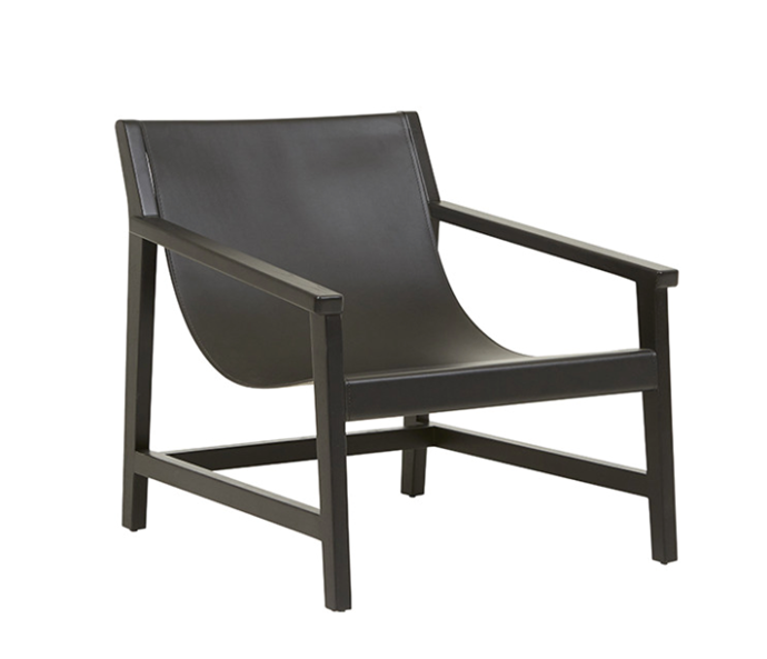 """Como Sling Ocassional Chair, $945 by [Globewest](https://www.globewest.com.au/browse/como-sling-occasional-chair