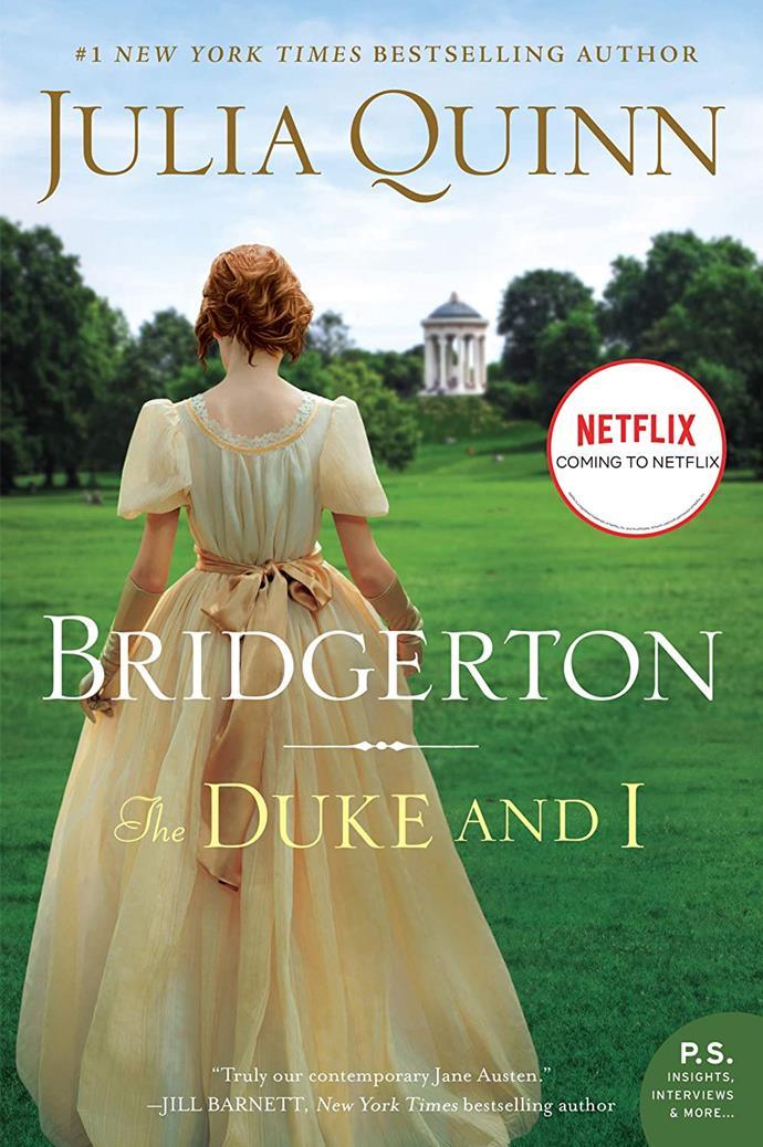 "*Bridgerton: The Duke and I* by Julia Quinn, $31.75 at [Booktopia](https://fave.co/30P5i8o|target=""_blank"")."