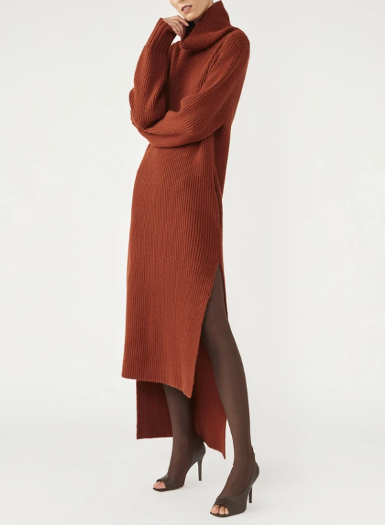 """'Theodore' knit dress by CAMILLA AND MARC, $650 at [CAMILLA AND MARC](https://fave.co/2FdHSks