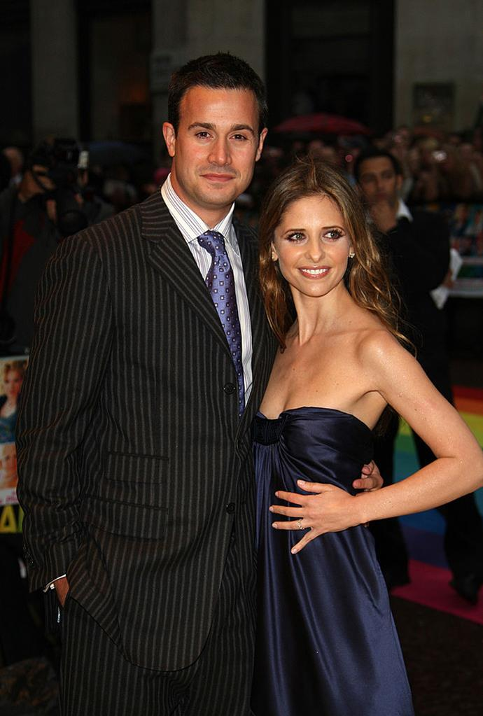 """**Sarah Michelle Gellar and Freddie Prince Jr.** <br><br> Even after eighteen years, the couple still seem to be going strong which has caused many people to press them for the secret to a long-lasting marriage, and, thankfully, they're realists and admit that it's not all rainbows.  <br><br> """"We were fortunate enough to be at the right times in our lives where we both wanted something serious and it worked,"""" Prinze said during an interview for *AOL Build*. """"So we're lucky, but we also work very hard at it. It's not just dumb luck, it's definitely work."""""""