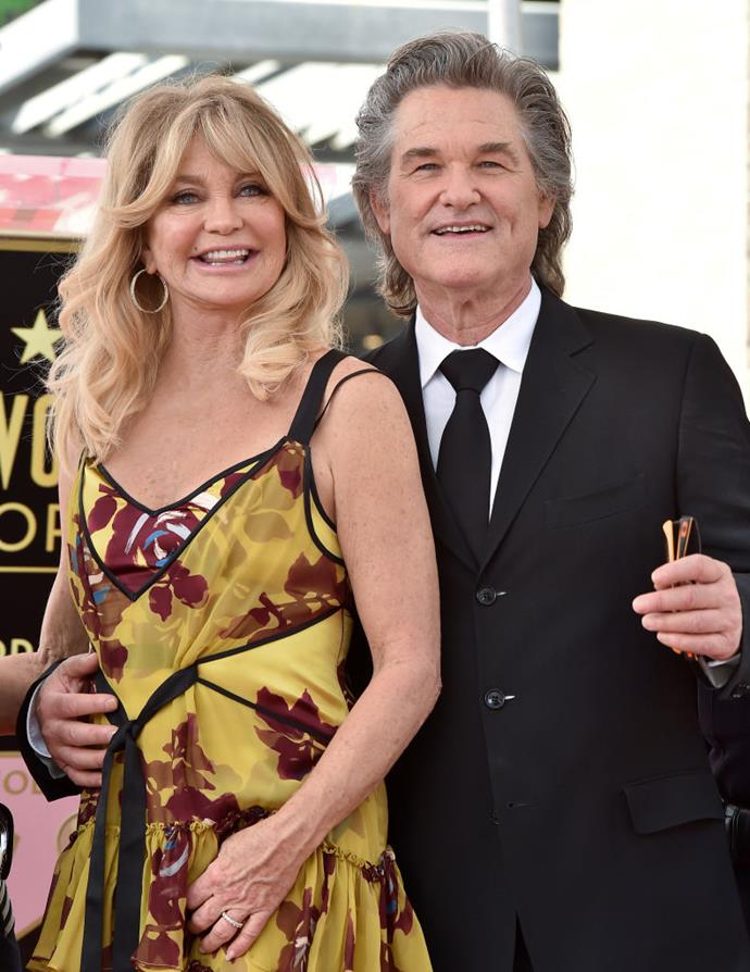 """**Goldie Hawn and Kurt Russell** <br><br> The '80s golden couple who have been together for decades have admitted that staying with one person, particularly when working in Hollywood, can pose a challenge. In an interview with *People Magazine* the actress was quoted as saying, """"Monogamy is a very tough order. You're in the prime of your life, you are attracted to other people, potentially, you have fantasies about that."""" However, the couple has managed to stay together, and are the poster couple for successfully-blended families."""