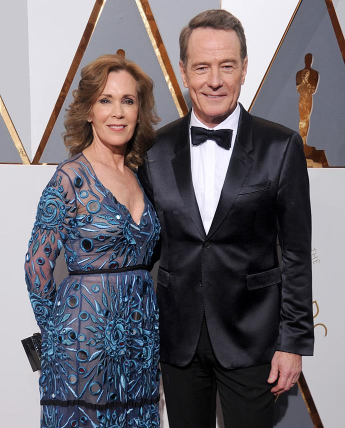 """**Bryan Cranston and Robin Dearden** <br><br> Being with someone for over thirty years is a concept that is difficult to imagine for many of us, so we listen when this couple discusses how they've resolved their marital issues, and it's all about respect and mediation.  <br><br> In 2013, the actor told *Rolling Stone* that they go to couple's counselling from time to time, whenever one of them sees it fit for them to go. <br><br> """"Our agreement is, if either of us feels like we want to go, the other can't object,"""" he said. <br><br> That way, if something is bugging either of them, it's sure to be addressed."""