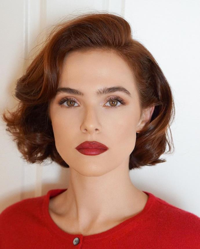 """**THE OLD HOLLYWOOD BOB**<br><br>  **Byron Turnbull, Co-Founder and Director of [Goldie Sydney](https://goldie.sydney/