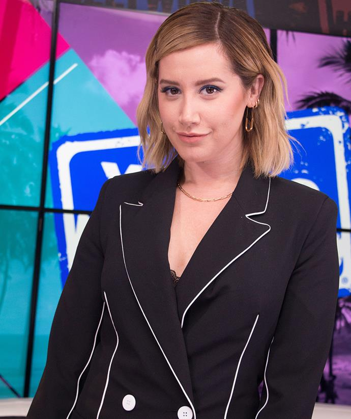 """**Ashley Tisdale** <br><br> Sharing her story on [her Instagram](https://www.instagram.com/p/CD_qbPDlajA/?utm_source=ig_embed