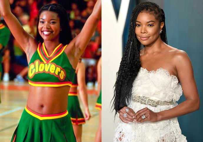 """**Gabrielle Union (Isis)** <br><br> Playing Isis, the team captain of the East Compton Clovers, Union's performance (alongside her iconic """"Burr, it's cold in here"""" dance) skyrocketed her to fame. Since winning the nationals cheer competition, Union went on to appear in films like *Bad Boys II*, *Think Like a Man*, and starred in TV shows like *Being Mary Jane*.  <br><br> An ageless unicorn, Union married Dwayne Wade in 2014, and the pair welcomed their daughter Kaavia, in 2018. Still a fan of the 2000 hit-film, Union and her daughter even [dressed up as Clovers](https://www.instagram.com/p/B4IrulDpJHP/?utm_source=ig_embed