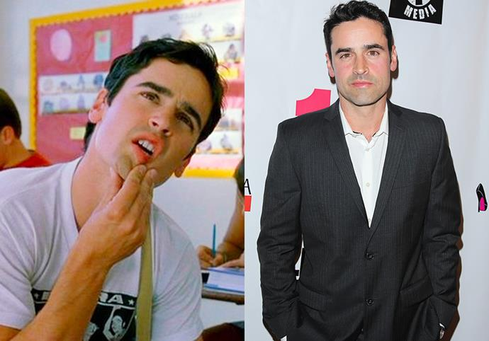 **Jesse Bradford (Cliff Pantone)** <br><br> Any fan of *Bring It On* would have called Cliff Pantone their number one '00s crush. Since playing Cliff, Bradford went on to star in the thriller *Clockstoppers*, *Swimfan* and played Harris Downey in the TV series *Shooter*. He also went on to marry actress Andrea Leal in 2018.
