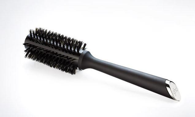 "Natural Bristle Radial Brush Size 1, $40 by [ghd](https://www.ghdhair.com/au/natural-bristle-brushes/natural-bristle-radial-brush-size-1|target=""_blank""