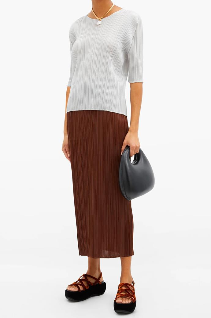 """[Technical-Pleated Top](https://www.matchesfashion.com/au/products/Pleats-Please-Issey-Miyake-Technical-pleated-top%09-1373792