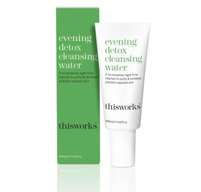 """Evening Detox Clay Mask, $67 by This Works at [MECCA](https://www.mecca.com.au/this-works/evening-detox-clay-mask/I-031877.html?cgpath=skincare-masks-detoxifying