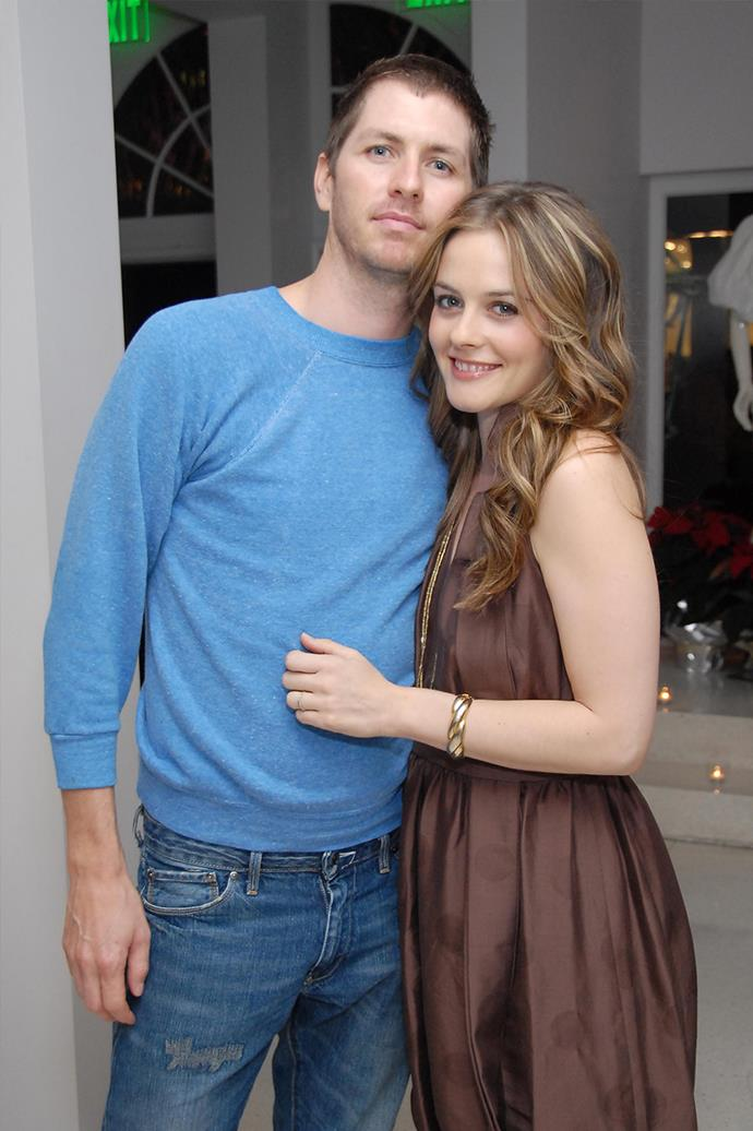 **Christopher Jarecki and Alicia Silverstone** <br><br> Despite the couples divorce in 2018, the pair share one child together, a son named **Bear Blu**.