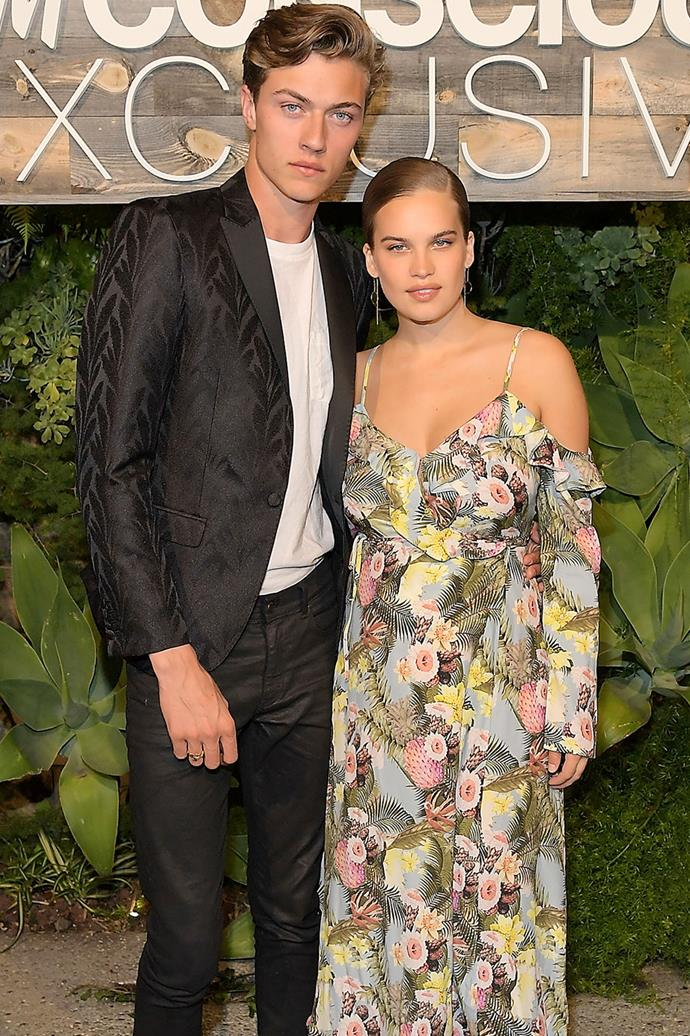 **Lucky Blue Smith and Stormi Bree** <br><br> Models-turned-parents Lucky Blue Smith and Stormi Bree have rather unusual names themselves. However, when they welcomed their daughter in 2017, they chose to name their daughter something equally as unique: **Gravity**.