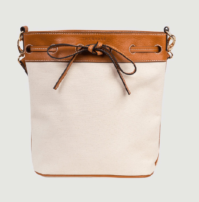 "Bucket Bag by The Horse, $179 at [The Iconic](https://www.theiconic.com.au/bucket-bag-1056215.html|target=""_blank""