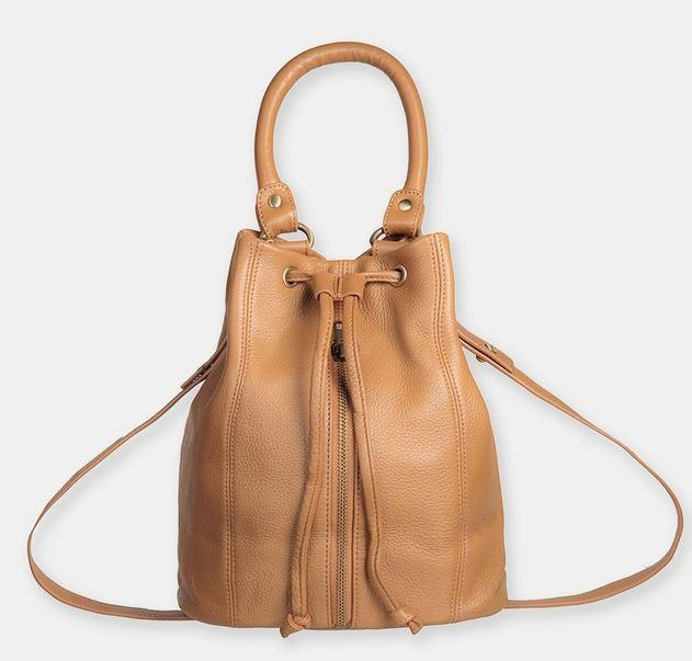 "Premonition Bag in Tan by Status Anxiety, $229.95 at [The Iconic](https://www.theiconic.com.au/premonition-tan-bag-395455.html|target=""_blank""